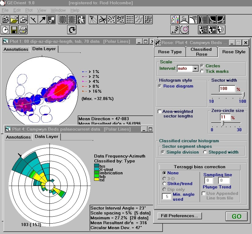 Rose Diagram Geology Software Free Download